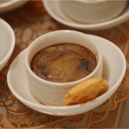 Irish Coffee Creme Brulee with Scottish Shortbread