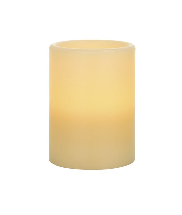 Momento Glow LED Pillar Candle, 10cm