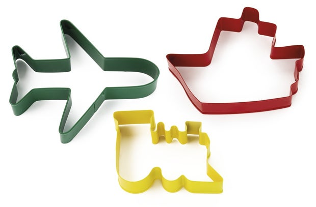Capital Kitchen Bake Transport Cookie Cutters, 3 Piece