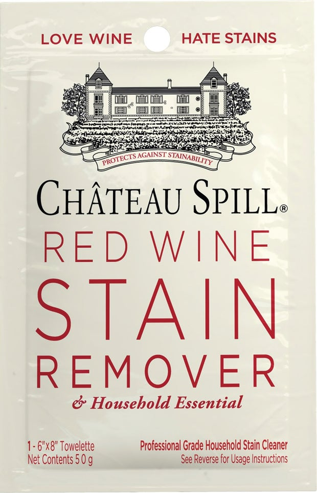 Chateau Red Wine Stain Removal Wipes
