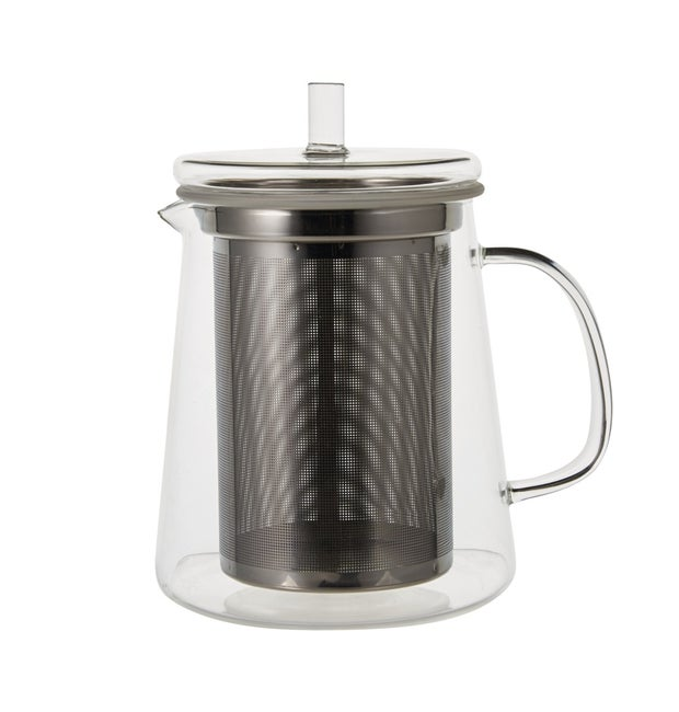 Momento Cafe Glass Teapot with Infuser, 1L