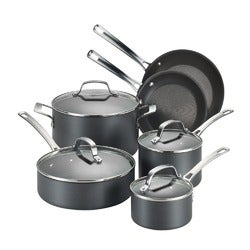 Circulon Genesis Plus Hard Anodised Cookware Set, 6 Piece