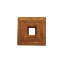 Capital Kitchen Oak Trivet, Set of 3
