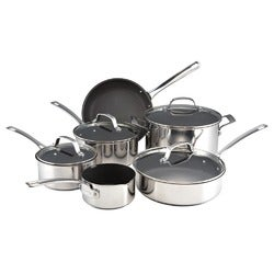Circulon Genesis Stainless Cookware Set, 6 Pieces