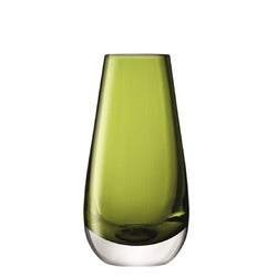 LSA Flower Colour Bud Vase, Green, 14cm