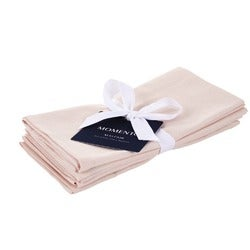 Momento Mayfair Napkin, Blush, Set of 4