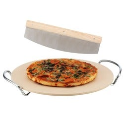 Stevens Pizza Stone Set, 38cm