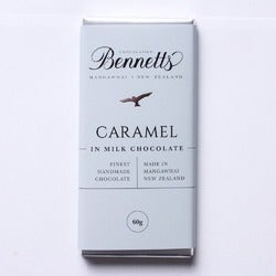 Bennetts Caramel Milk Chocolate Bar, 60g