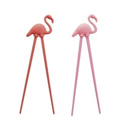 Capital Kitchen Silicone Flamingo Chopstick, Assorted Colours