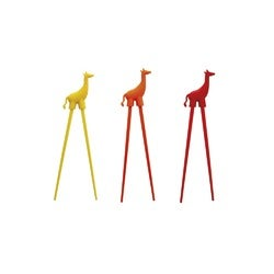Capital Kitchen Silicone Giraffe Chopstick, Assorted Colours