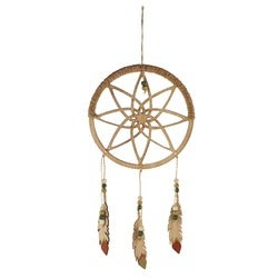 Stevens Dream Catcher with Feathers