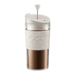Bodum Coffee Travel Press, White, 350ml