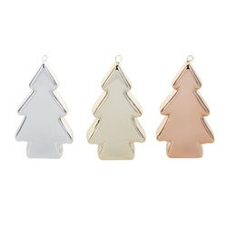 Christmas Festive Tree Decorations, Set of 3