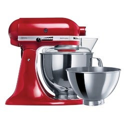 KitchenAid Artisan Stand Mixer, KSM160, Empire Red