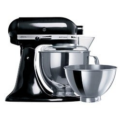 KitchenAid Artisan Stand Mixer, KSM160 Onyx Black