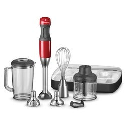 KitchenAid Artisan Deluxe Hand Blender, KHB2569, Empire Red