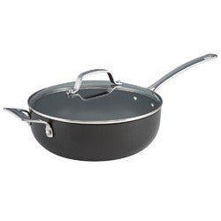 Circulon Genesis Plus Hard Anodised Chefs Pan, 26cm