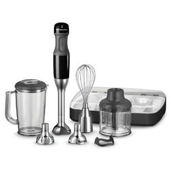 KitchenAid Artisan Deluxe Hand Blender, KHB2569, Onyx Black (Corded)