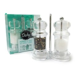 Dishy Salt and Pepper Caddy Set