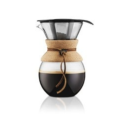 Bodum Pour Over Coffee Maker Cork, 1 litre