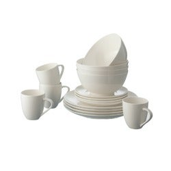 Rhubarb Coupe Dinner Set, 16 Piece