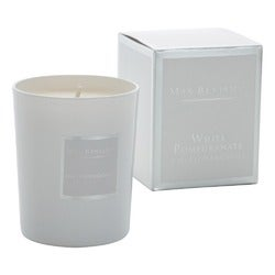 Max Benjamin White Pomegranate Candle, 190g