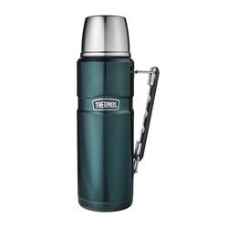 Thermos Stainless King Flask, Green, 1.2 Litre
