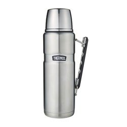 Thermos Stainless King Flask, Silver, 1.2 Litre