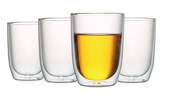 Momento Cafe Double-Wall Glass, Set of 4, 300ml