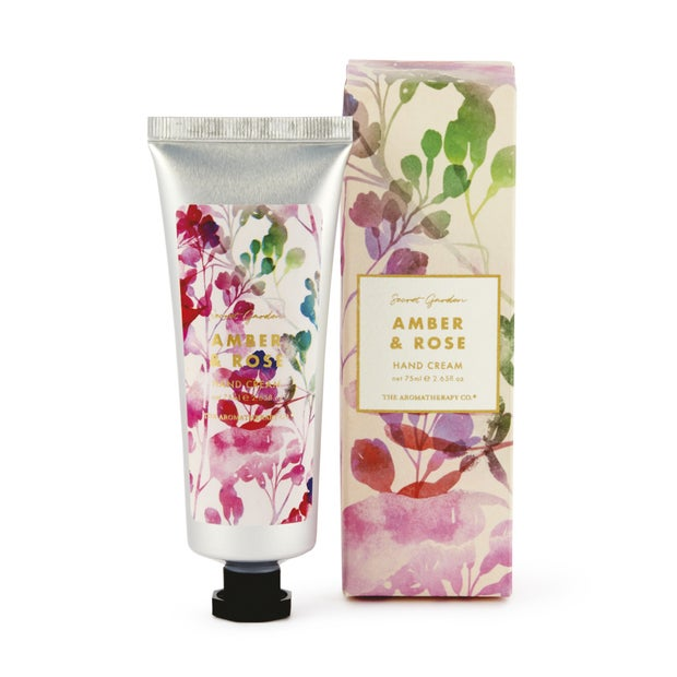 The Aromatherapy Co. Amber & Rose Hand Cream, 75ml
