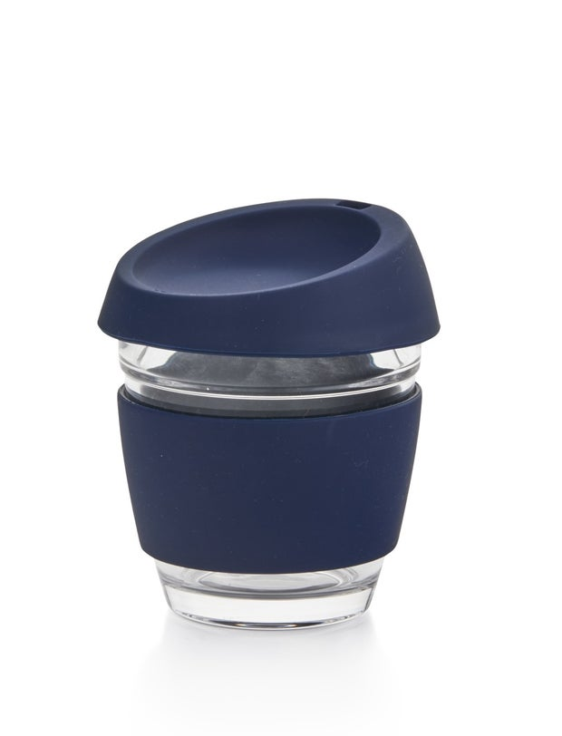 Momento Takeaway Coffee Cup, Navy, 227ml