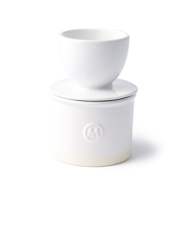 Momento Maison Butter Bell with Lid, White