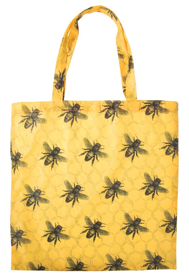 Independence Studios Recycled Foldable Shopper Bag, Bees