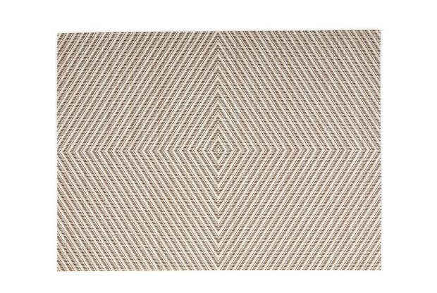Momento Aztec Placemat, Taupe Natural