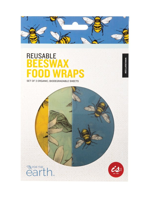 Independence Studios Beeswax Wraps, Pack of 3
