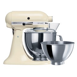 KitchenAid Artisan Stand Mixer, KSM160, Almond Cream