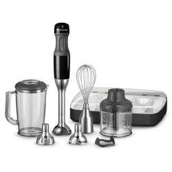 KitchenAid Artisan Deluxe Hand Blender, KHB2569, Onyx Black