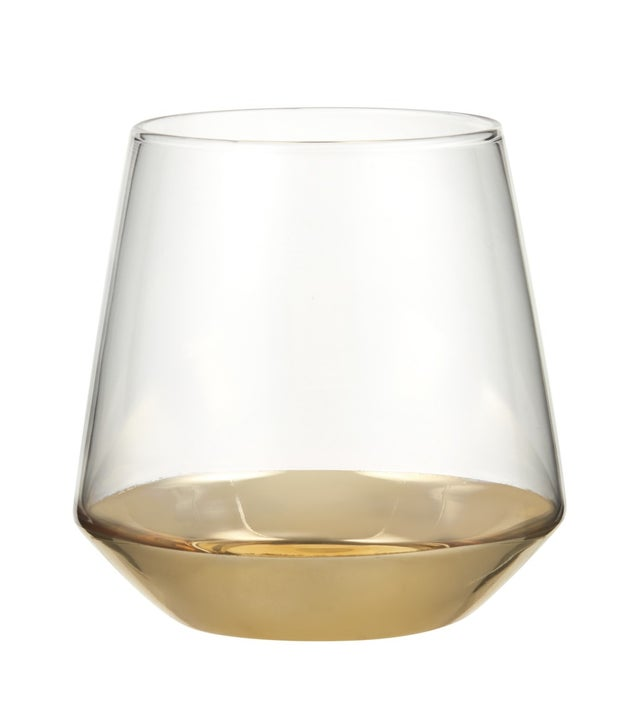 Momento Jazz Double-Old-Fashioned Glass, Gold, 410ml