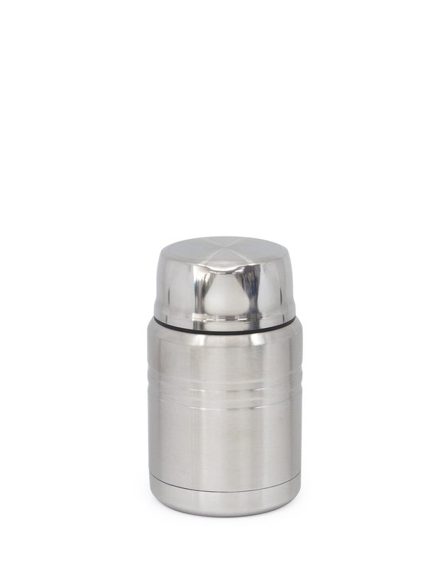 Hydra Food Flask, Silver, 500ml