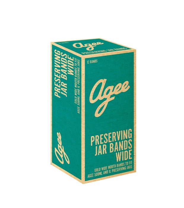 Agee Preserve Jar Band, Wide