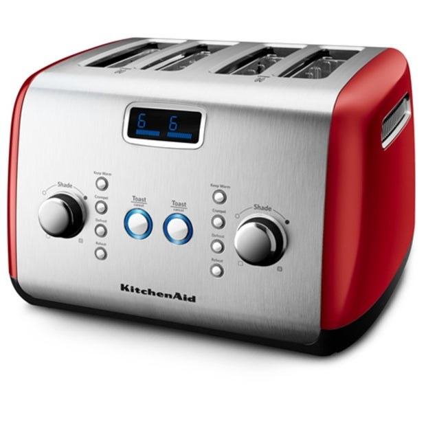 KitchenAid Artisan Toaster 4 Slice, KMT423, Empire Red
