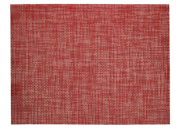 Momento Placemat Basket Weave, Red