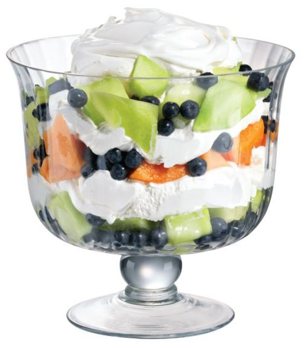 Momento Essence Fluted Trifle Bowl Glass
