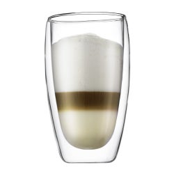 Bodum Pavina Double Wall Glass, Set of 2, 450ml