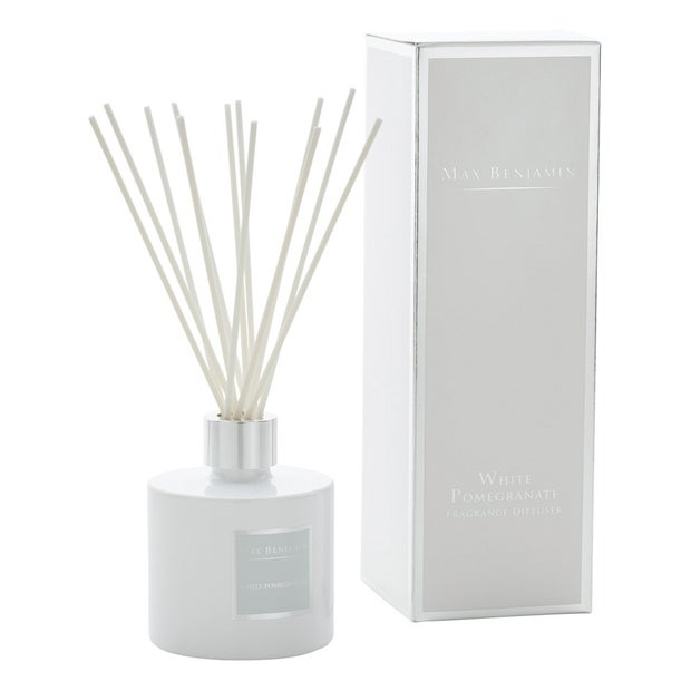 Max Benjamin White Pomegranate Diffuser, 150ml