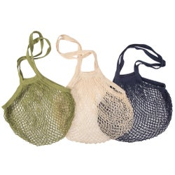 Independence Studios Cotton String Shopping Bag, Assorted